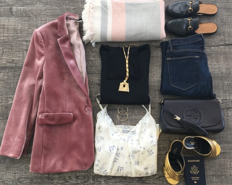 Jami Briggs Wardrobe Consultant Travel Outfit