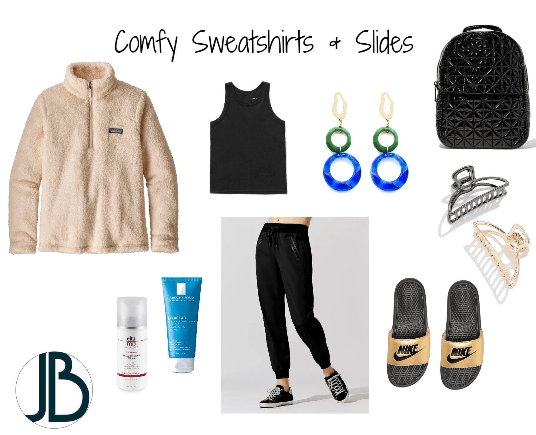 Jami Briggs Fasion Consultant - Comfy Sweatshirts & Slides