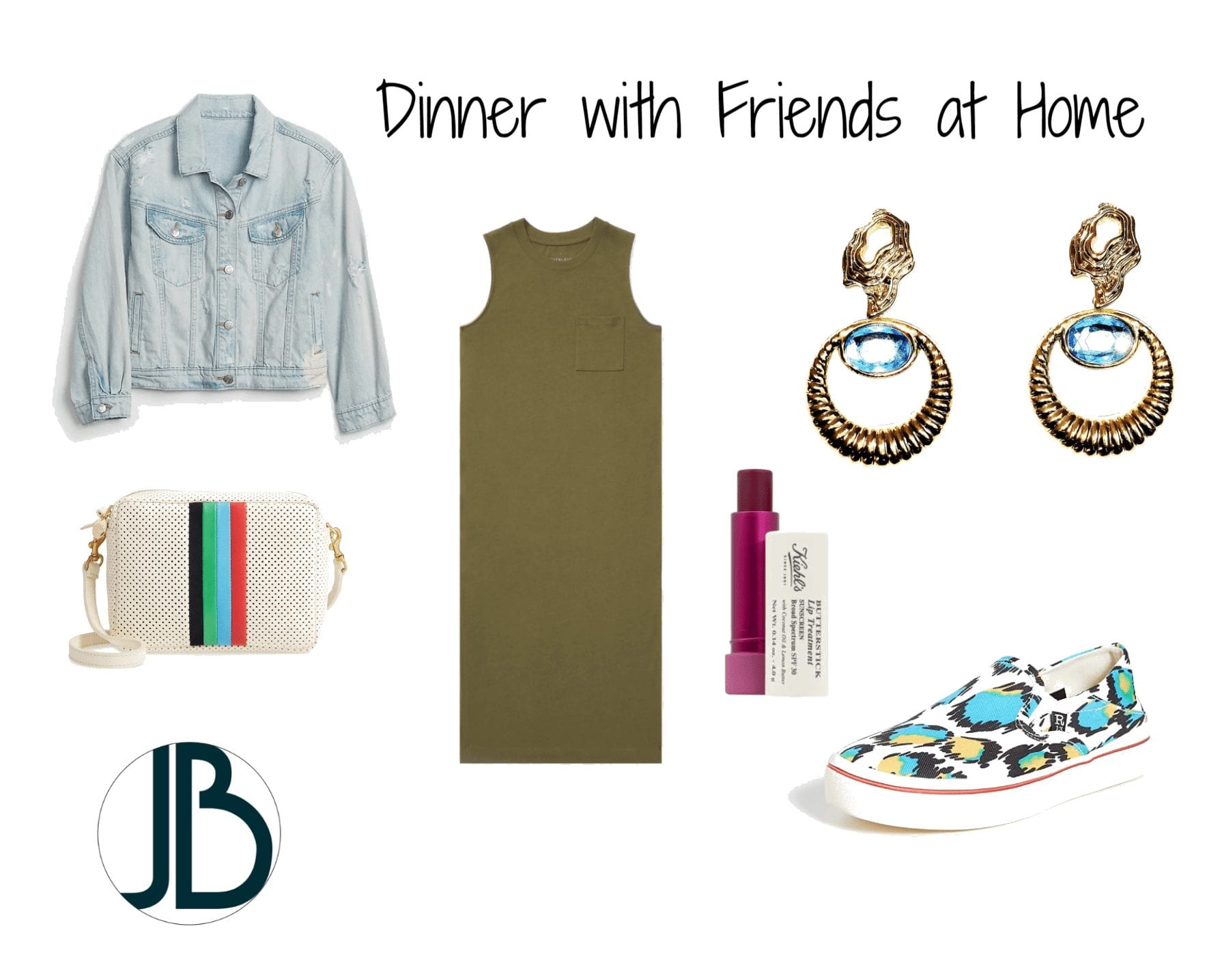 Jami Briggs Fasion Consultant Dinner at Home Outfit