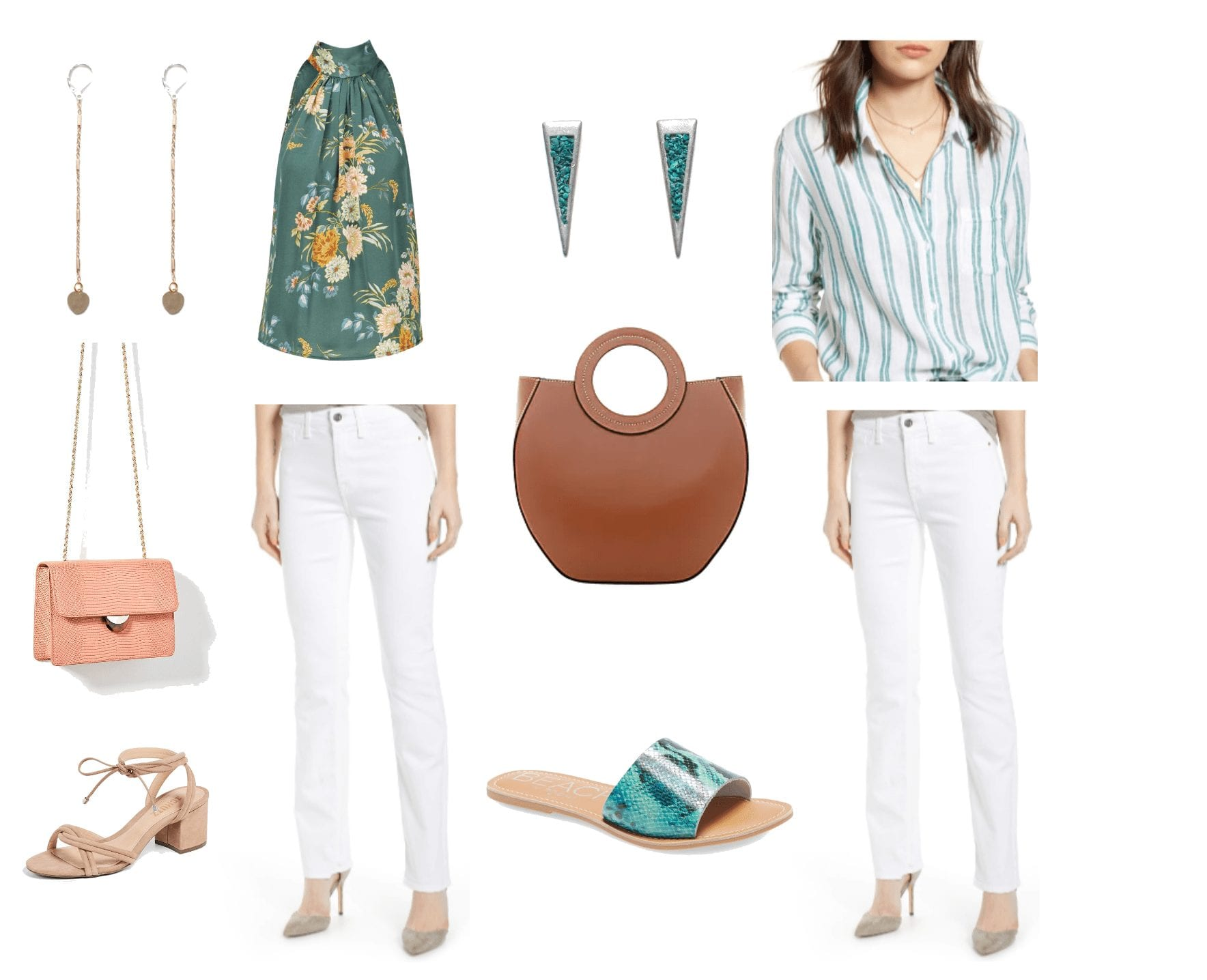 Jami Briggs Personal Stylist White Jean Outfits